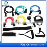 11 Pcs Resistance Bands Set Workout Exercise Pilates Yoga Crossfit Fitness Tubes
