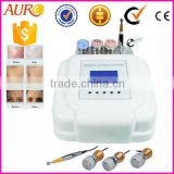 Au-221 Hot sale electrical mesotherapy needle free facial massage slimming meso machine for wrinkle removal