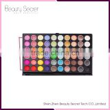 Wholesale oem 82colors palette for eyashadow kiss beauty blusher