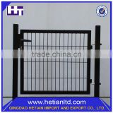 Long Lifetime Antique Wrought Iron Solid Metal Fence Panel