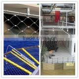Stainless Steel Rope Mesh/architectural cable Mesh/facades rope Mesh(ten years factory with ISO9001)