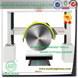 WANLONG end cutter cutting machine for stone processing