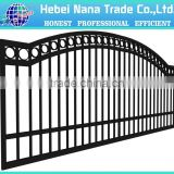 House iron gate design / steel sliding gate / Aluminum fence gate designs