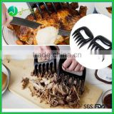 Food grade glossy finish meat claws for pulled beef bear paw meat handlers bear paw meat handler forks