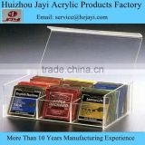 Factory wholesale acrylic tea packaging box and tea bag storage box