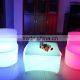 elegant casino led chair, comfortable casaul party chair, rechargeable led bar or cafe furniture