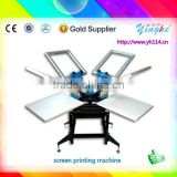 worthful equippment on sale!!! silk screen steel drum printing machine for cloth business