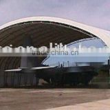 Airplane Hangar, Fabric storage shelter, warehouse tent , Trussed Building