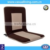 Indoor Outdoor Adjustable Reclining Soft-Brushed Polyester Cord Three-Position Multiangle Floor Chair