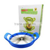 New Product Stainless Steel Fruit Melon Cutter Divider Watermelon Cantaloupe Corer Slicer
