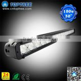 Aluminum CR EE 30inch vehicle lamp 180w led light bar with DT connector 4x4 offroad led light bar