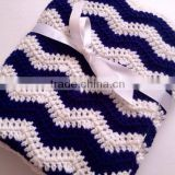 Wholesale Baby Cotton Crochet Blanket, Knitted Acrylic Blanket