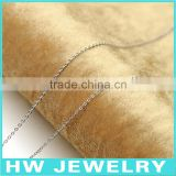 40622 machine made 925 sterling silver chains