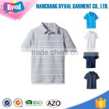 Boys and Girls Polo Shirt Customize Sports Team Uniforms Striped Shirt Wholesale Kids Golf Polo on Alibaba