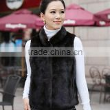 Autumn and winter fur fur short section vest women coat coat Rex rabbit hair