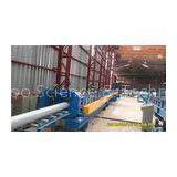 Round Down Pipe Roll Forming Machine 40GP Container Integrated Adjustment