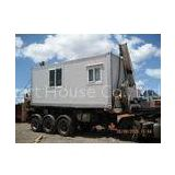 Galvanized Steel Prefab Container House , Residential Mobile Homes