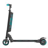 New Portable Electric Power Fitrider Scooter Foldable Electric Bike the Seat Can Be Added,With Colorful Breathing Handle