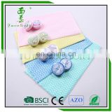 wholesale alibaba Non-woven custom shaped compressed tissue Cleaning wipes nonwoven fabric biodegradable nonwoven wipes