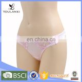 Hot selling Good Quality Embroidery Spandex Beautiful Girls Thongs