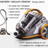 Puppyoo Powerful Cylinder Vacuum Cleaner Bagless Cyclonic Home Appliance 800W