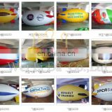 Many styles inflatable zeppelin airship