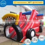 TOP INFLATABLES Professional swimming inflatable pool water slide boat