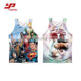 2017 new product gym vest customized running sublimation singlet women tank top