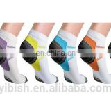 Unisex Ankle-Length Compression Socks#YLW-07
