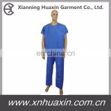 Hospital Serged Seam Scrub Suit ,Patient Gown