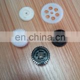 Dongguan Plastic Product Small Toy Component Nylon Universal Strengthening Rack Gears