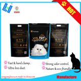 Bentonite cat litter with 5L, ultra less dust, super odor control, hard clump