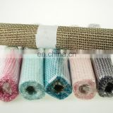 Ginham Rolls Straw Ribbon Burlap GiftWrap Overlay TableCover BabyShower Wedding