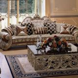 OE-FASHION Europe style sofa set royal reproduction living room furniture