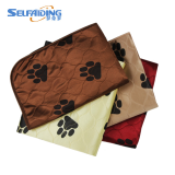 4 Layers Protection Reusable Dog Pee Pads Washable Pet Waterproof Puppy Training Dog Wee Wee Pads Cat Travel Mat