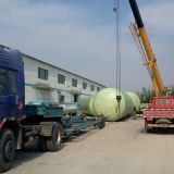 Fibreglass Pressure Tank Anaerobic Waste Water Treatment Fiberglass Retention Tanks