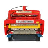 828/840 Galvanized Automatic Double Layer roof Tile roll forming machine