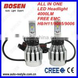 2014 super new cree 6000lm 60w high power led headlight bulb H4 high/low H7 H8 H11 P13 H16 PSX26 9005 9006 9007 HB3 HB4 HB5