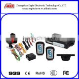 China factory made wireless two way car alarm system with remote engine start function two stage shock sensor