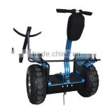 New arrival big wheel golf cart ,two wheel self balancing electric scooter with golf bag carrier bracket