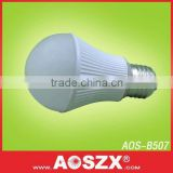 AOSZX LED lighting manufacturer cool white 550lm smd 5630 230V E27 High Quality LED Bulb
