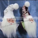 2014 Newest unique Father Christmas head decorations
