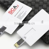 Bulk 1gb Credit Card USB Drive Memory Flash Stick Pendrive Blank White                                                                         Quality Choice