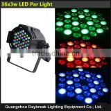 cheap Professional DMX 512 4/8 CH 110v-240v EU/US plug high brightness 54*3w RGBW LED par light for events