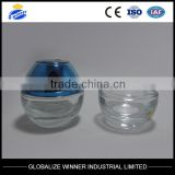 100g egg-shaped face creams cream jars with acrylic cap with insert /gasket /Hand gasket