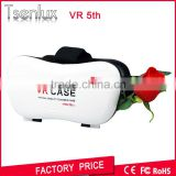 custom style 3d video viewer 3.5-6.5 inches cell phone use wholesale google 3d glass cardboard vr