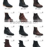 Chelsea boots for men genuine leather boots mens leather boots