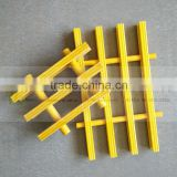 High quality anti-corrosion plastic grating, various specification fiber glass reinforced plastic grating