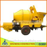 JZC350 diesel-drived engine concrete mixer with pump for sale                                                                                                         Supplier's Choice