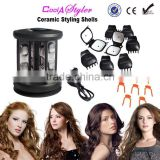 Hair salon equipment Ceramic Styling Shells hair curler as seen tv